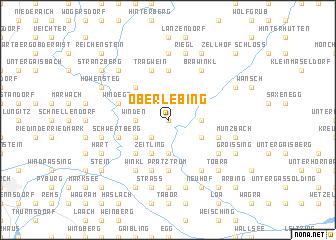 map of Oberlebing