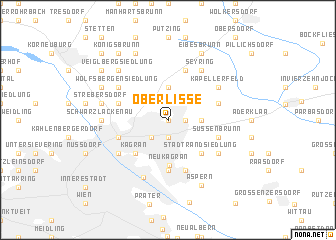 map of Oberlisse