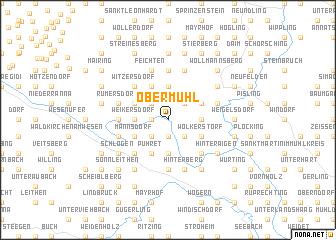 map of Obermühl