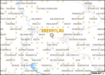 map of Obermylau
