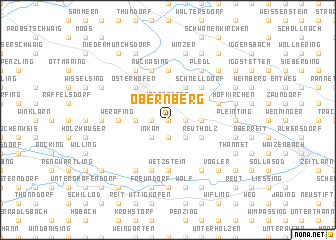 map of Obernberg