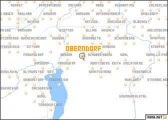 map of Oberndorf