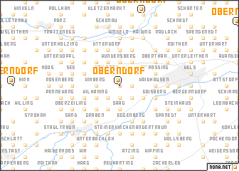 map of Oberndorf