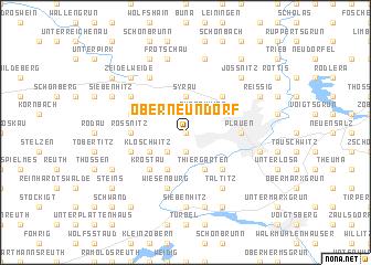 map of Oberneundorf