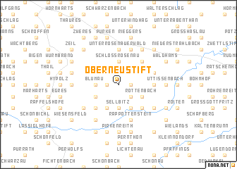 map of Oberneustift