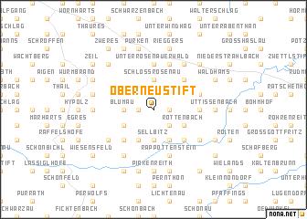 map of Oberneustift