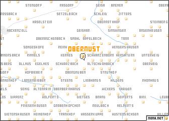 map of Obernüst