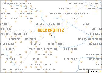 map of Oberrabnitz
