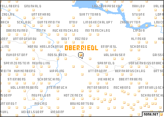 map of Oberriedl