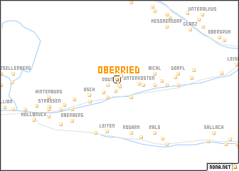 map of Oberried