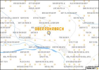 map of Oberrohrbach