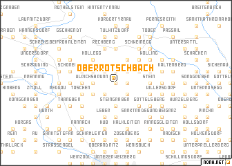 map of Oberrötschbach