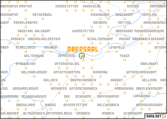 map of Obersaal