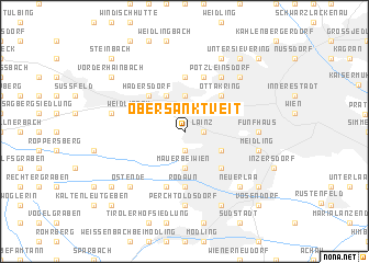 map of Ober-Sankt-Veit
