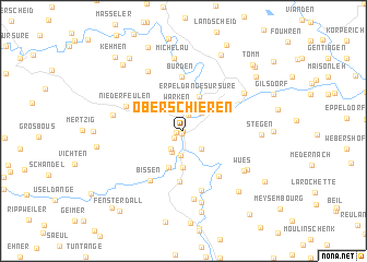 map of Oberschieren