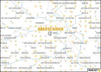 map of Oberschirka