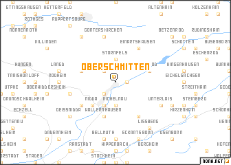 map of Ober Schmitten