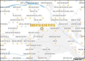map of Obersievering