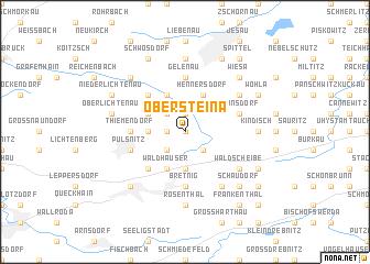 map of Obersteina