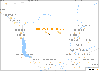 map of Obersteinberg