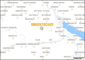 map of Oberstocken