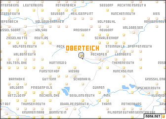 map of Oberteich