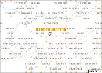 map of Oberteuerting