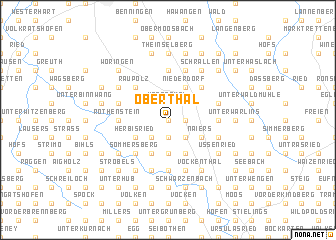 map of Oberthal