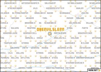 map of Obervilslern