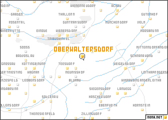 map of Oberwaltersdorf