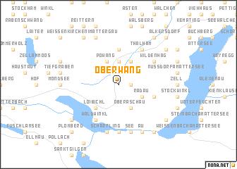 map of Oberwang