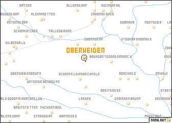 map of Oberweiden