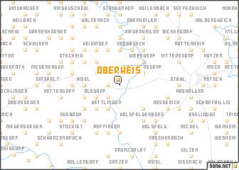 map of Oberweis