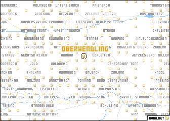 map of Oberwendling