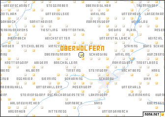 map of Oberwolfern