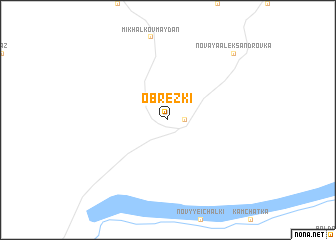 map of Obrezki