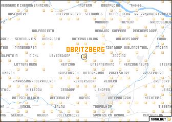 map of Obritzberg