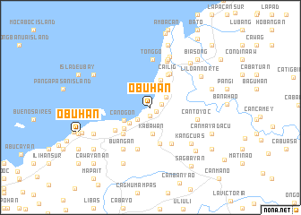 map of Obuhan
