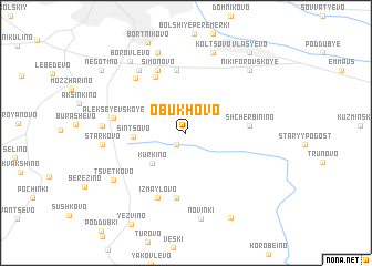 map of Obukhovo