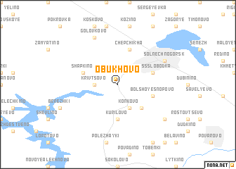map of Obukhovo