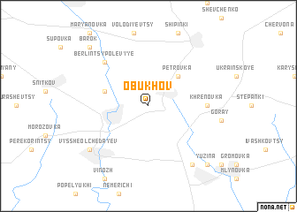 map of Obukhov