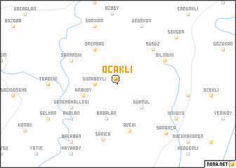 map of Ocaklı
