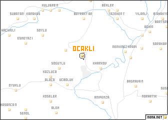 map of Ocaklı