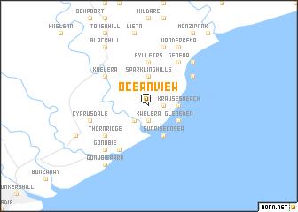 Ocean View South Africa map nonanet
