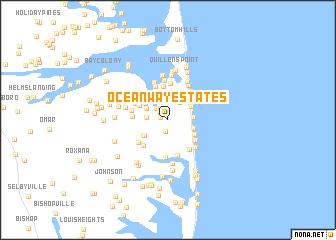 map of Ocean Way Estates