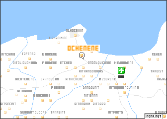map of Ochenene