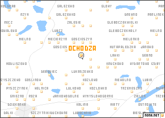 map of Ochodza