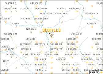 map of Ocotillo