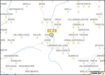 map of Ocre