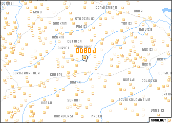 map of Odboj